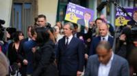 Nigel Farage campaigning in Essex