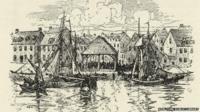 Illustration of the slave market