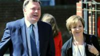 Ed Balls on the campaign trail with Delia Smith