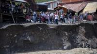 Landslide in Salgar, Colombia