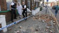 Folkestone earthquake in 2007
