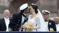 sweden royal wedding prince carl philip marries ex
