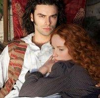 Aidan Turner and Amy Manson