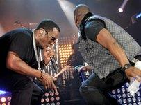 P Diddy and Skepta