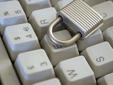 Computer keyboard and lock