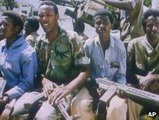 Somalian guerillas