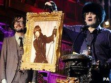 Jarvis Cocker and Shane McGowan