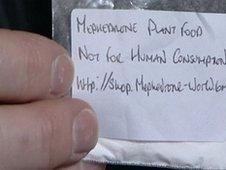 Mephedrone powder