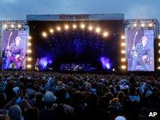 Paul McCartney at the Isle of Wight Festival
