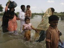 Refugees in Multan, Pakistan
