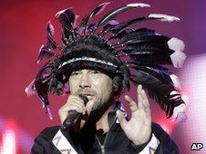 Jay Kay from Jamiroquai