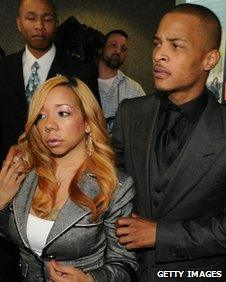Tameka Cottle and T.I.