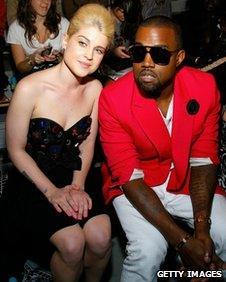 Kelly Osbourne and Kanye West