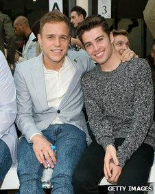 Olly Murs and Joe McElderry