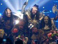 Finnish rockers Lordi