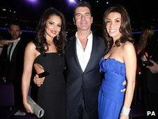 Cheryl Cole, Simon Cowell and Mezhgan Hussainy