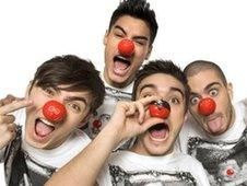The Wanted comic relief