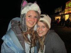 Hayley and her friend Rosie