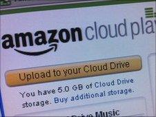 Amazon cloud player screen