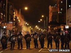 Police in Croydon, London