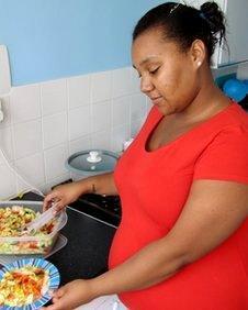 Corina Ellison had binge eating problem
