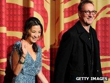 Michelle Yeoh and David Thewlis