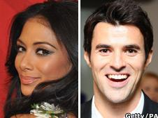 Nicole Scherzinger and Steve Jones