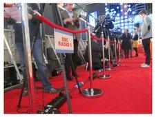 The Brit Awards red carpet