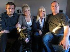 Dan, Abby, Corinne and Steve Seddon