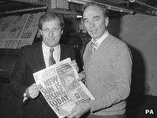 Kelvin MacKenzie and Rupert Murdoch