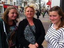 Vanessa, Tessa and Hayley