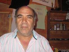 George Karagiannis, 58, who owns George's Bar.