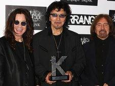 Black Sabbath: Ozzy Osbourne, Tony Iommi and Geezer Butler