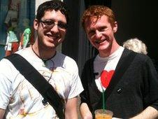 Sean Pearson and Alex Blair