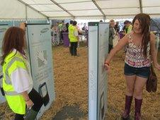Fans at Wakestock had to 'scan in' and 'scan' out of the festival site