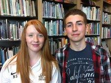 Natalie Slater and Tom Bevan