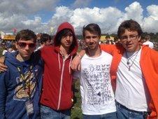 Jacob, Luke, Jake Silva and Edward