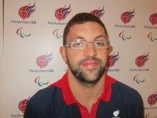 Paralympic athlete Dan Pepper