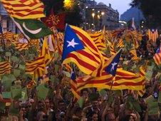 Millions marched for independence last month