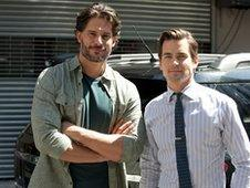 Joe Manganiello and Matt Bomer