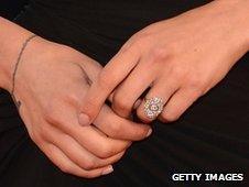 Scarlett Johansson (ring detail)