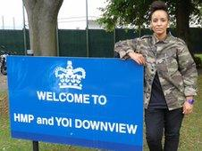 Adele Roberts at HMP Downview