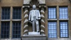 Rhodes statue in Oriel
