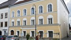 Adolf Hitler's birth house in Braunau am Inn, Austria