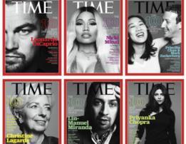 Portadas de la revista Time