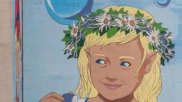 На мурале о дружбе Минска и Москвы нарисовали колючую проволоку