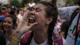 Протесты в Венесуэле: погиб полицейский