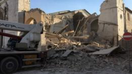 Землетрясение в Италии: разрушены многие здания