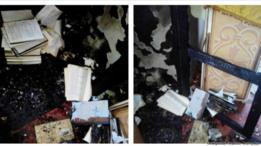 В Павлограде произошел пожар в церкви Московского патриархата