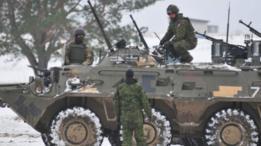 На Донбассе опять стреляли из 152 мм артиллерии